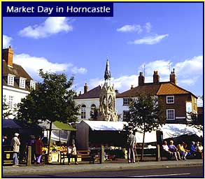 Horncastle tourist information - Click here